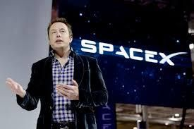 US Billionaire and CEO of SpaceX Elon Musk