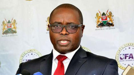 Unclaimed Financial Assets Authority CEO John Mwangi.