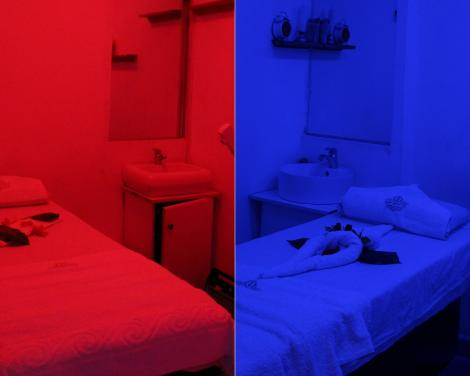 The massage rooms at Miss White Spa located at Kilimani