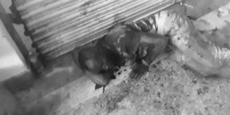 A police officer who was left for dead after citizens clobbered him for arresting a man without a mask in Kibokoni, Mvita within Mombasa County on July 10, 2020