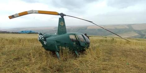 Narok Governor Samuel Tunai was involved in a chopper crash on October 17, 2020.