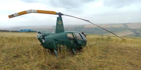 Narok Governor Samuel Tunai was involved in a chopper crash on October 17, 2020.