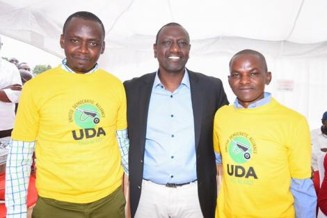 Deputy President William Ruto meets UDA candidates contesting in the upcoming by-elections for London and Hellsgate wards in Nakuru county