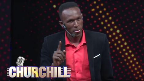 YY Comedian during a performance on Churchill Show in July 2015
