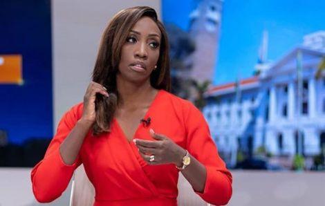 Citizen TV News Anchor Yvonne Okwara during a past set.