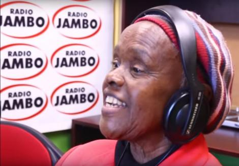 Citizen TV actress Elizabeth Wanjiru at Radio Jambo studios on Monday, February 17