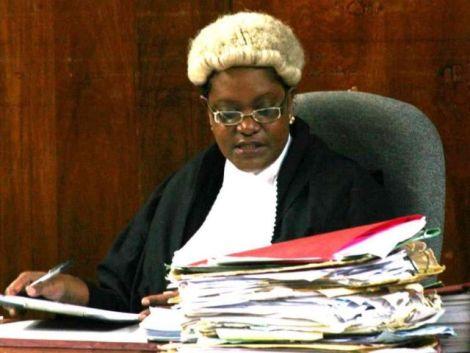 File image of Justice Abida Ali Aroni