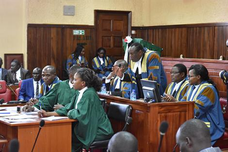 Bungoma County Assembly in session