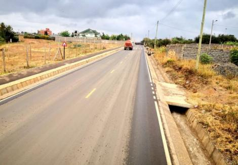 Buruburu Farmers road - a link between Kangundo Road(Chokaa) and Eastern Bypass (Mihango)