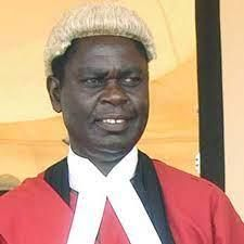 An archive image of former Court of Appeal judge Samuel Bosire.