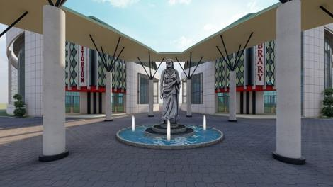 Artist's impression of the Dr Ida Odinga Library Research Innovation and Resource Centre