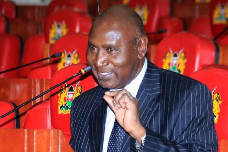 Former Auditor General Edward Ouko speaking before the National Assembly's Budget and Appropriations Committee on October 13, 2016.