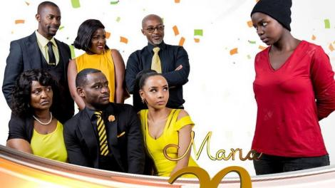 Citizen TV's Maria series cast.