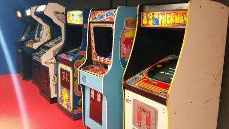 Gaming machines that were popular at arcades