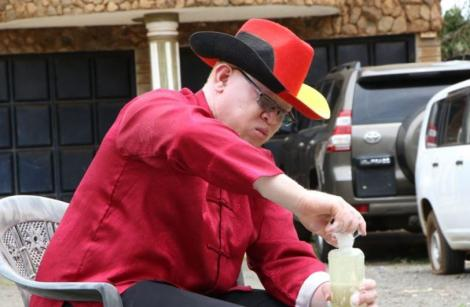 Nominated Senator Isaac Mwaura on April 19, 2020.