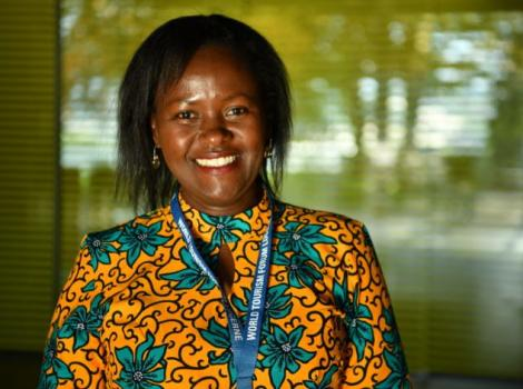 Kenya National Convention Bureau Coordinator, Jacinta Nzioka