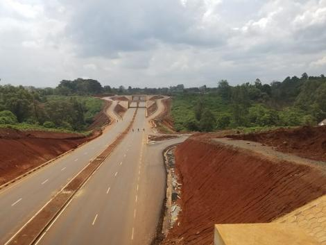 James Gichuru to Rironi road project.