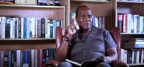 Jeff Koinange reads his autobiography Through My African Eyes on Monday, June 22, 2020