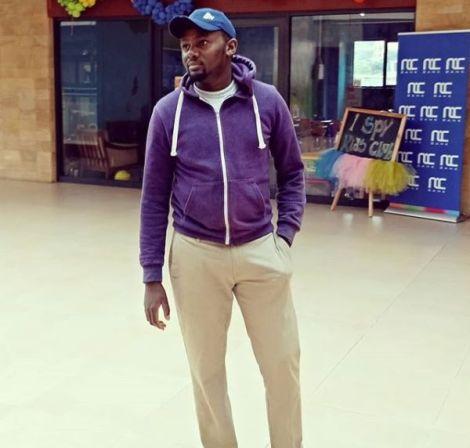 A file photo of Joseph Njoroge, an artist