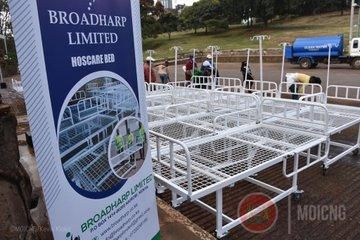 Jua Kali ICU beds procured from three young innovators to be distributed in the counties across the country.