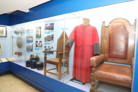 Photos taken inside the Judiciary Museum at the Supreme Court Building