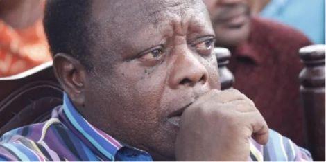 Former Changamwe MP Ramadhan Kajembe in a melancholic mood
