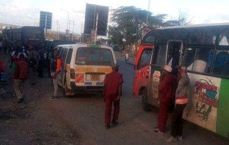 Matatus operating within in Nairobi City