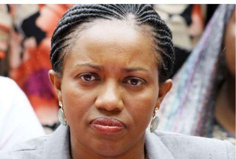 A file image of Nakuru Senator Susan Kihika