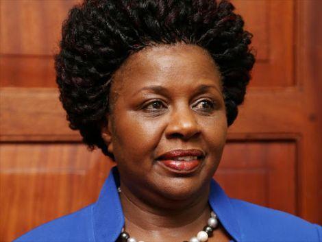 The late Bomet Governor Joyce Laboso