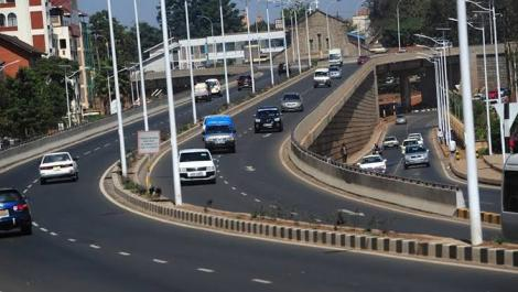 A section of Thika road.