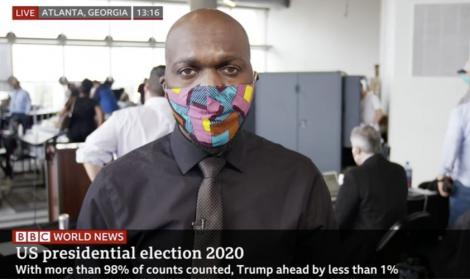 BBC journalist Larry Madowo