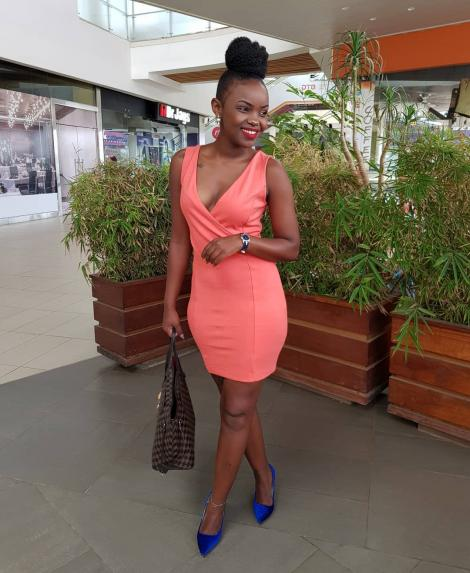 Beatrice Dorea Chege who plays the role of Maggy in Citizen TV's drama series 'Maria'