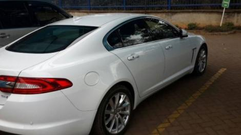 The 2012 Jaguar XF