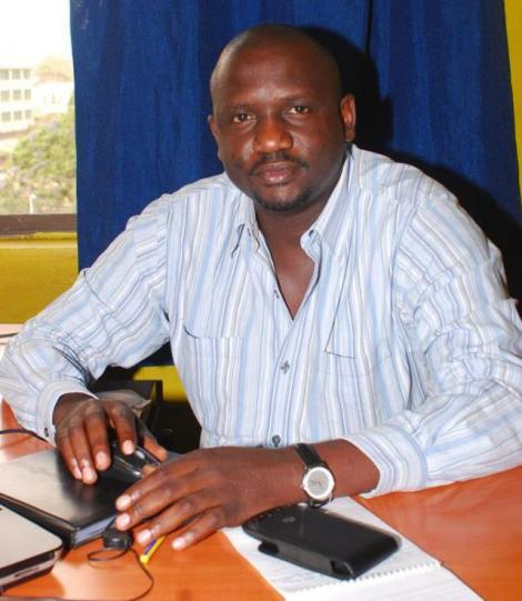 A file image of Ghetto radio managing director media boss Julius Owino