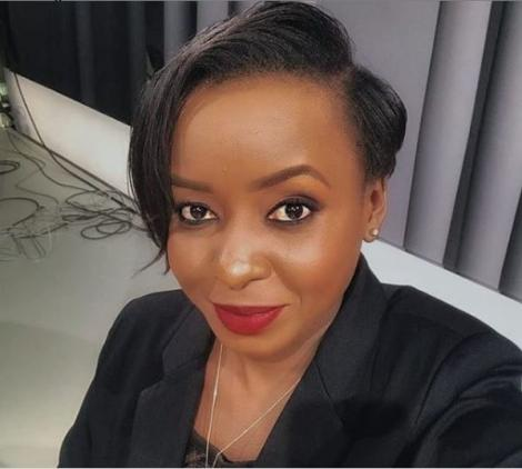 An archive photo of journalist Jacque Maribe