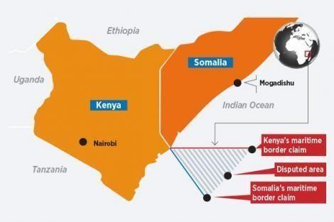 Disputed Kenya- Somalia Maritime Border