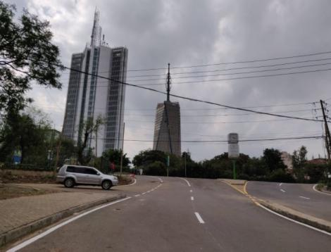 Matumbato Road in Nairobi