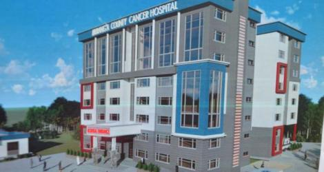 An artist's impression of the Murang'a County Hospital in Murang'a County
