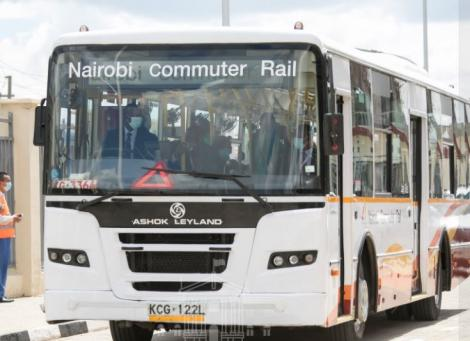 Nairobi Commuter Bus in November 2020.