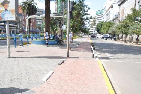 Kenyatta Avenue after the facelift by the NMS