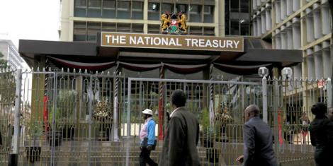 A file iumage of the National Treasury
