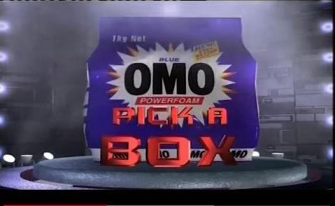 Screengrab from a past episode of 'Omo Pick a Box'