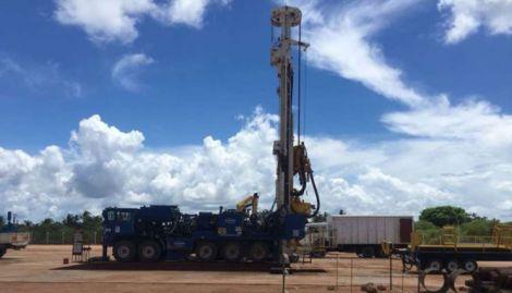 Oil exploration in northern Kenya