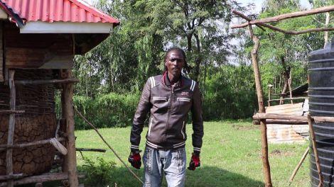 Renown Ohangla musician Eric Omondi popularly referred to as Omondi Long' Lilo