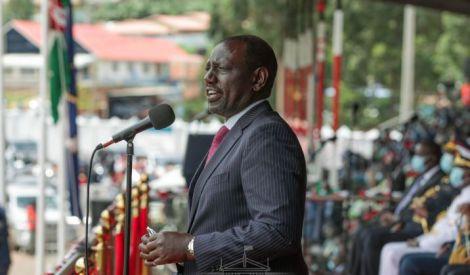 DP William Ruto address at Gusii Stadium, Kisii County on October 20, 2020.