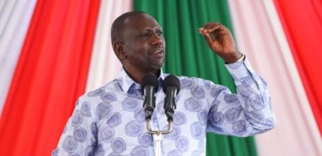 DP William Ruto speaking during a meeting withs with faith-based leaders in Mombasa County on august 29, 2020.