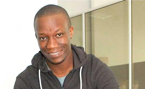 Sam Gichuru the founder of Kidato, a tech company that has been accepted in the Y Combinator