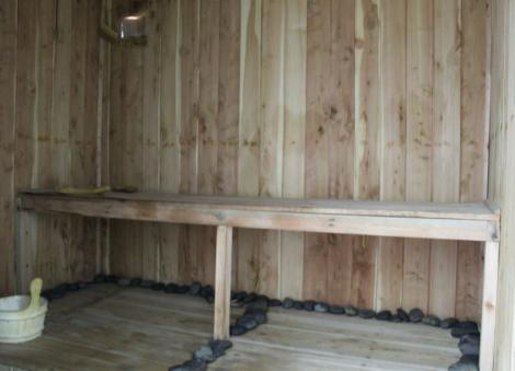 The Sauna at Miss White Spa.