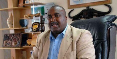 President of MKU Prof Simon Gicharu
