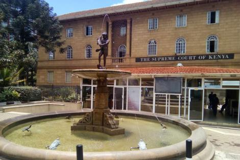 A picture of the Supreme Court of Kenya.